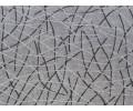 Colcha foulard tejido jacquard BURGOS gris detalle