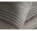 Colcha foulard tejido jacquard NIJAR cafe detalle