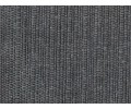 Colcha/Cubrecama con hilo tintado RÚSTICO LISOS gris detalle