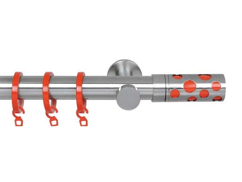 Mecanismo barra cortina INFINITY COLORS cavity rojo