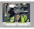 Estor enrollable COCINA vegetales orgánicos y especias