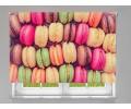 Estor enrollable COCINA galletas de colores