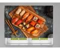 Estor enrollable COCINA sushi