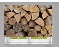 Estor enrollable FOTOGRAFIA troncos