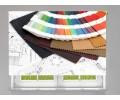 Estor enrollable FOTOGRAFIA muestrario de colores