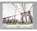 Estor enrollable FOTOGRAFIA puente de brooklyn