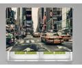 Estor enrollable FOTOGRAFIA taxis nueva york