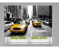 Estor enrollable FOTOGRAFIA new york taxis