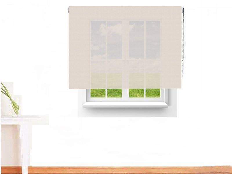 Estor enrollable Screen 7000 ignífugo lino