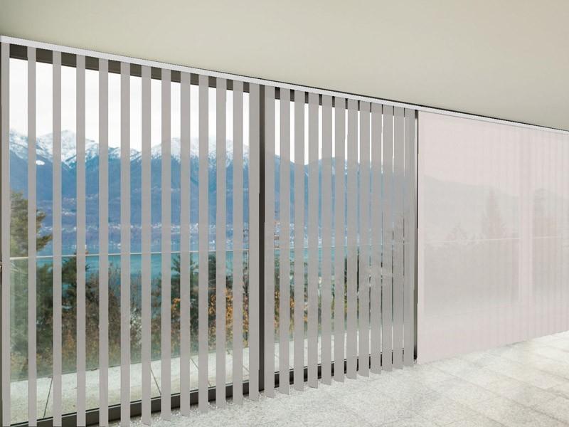 Verticales Screen 5000 ignífugo color blanco lino