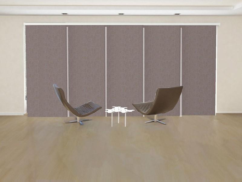 Panel decorativo opaco NEPTUNO color canela