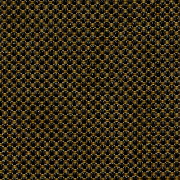 Tejido screen 3500 ignífugo factor apertura 5% color negro oro