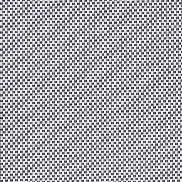 Tejido screen ignífugo 4000 factor apertura 1% color blanco gris oscuro